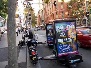 ScooterAdvertisingSydney-Sexpo Sydney (1)